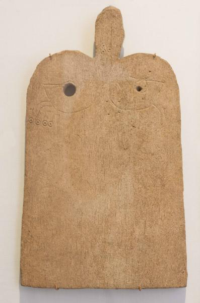 Whale Bone Plaque - credit Museum of Archaeology and Anthropology