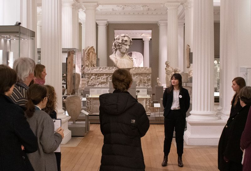 Jasmine Brady gives her tour of the Fitzwilliam