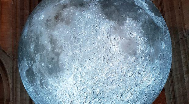 Luke Jerram's The Moon installation