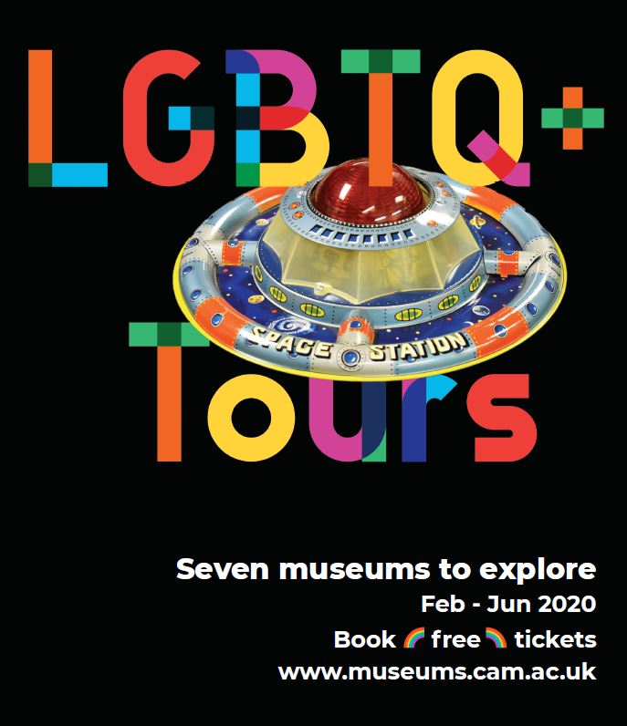 LGBTQ+ Tours - new marketing poster for 2020 tours