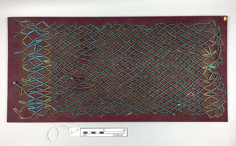The mummy net from the Lady Meux collection