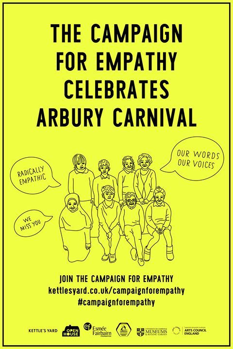 the campaign for empathy celebrates Arbury Carnival