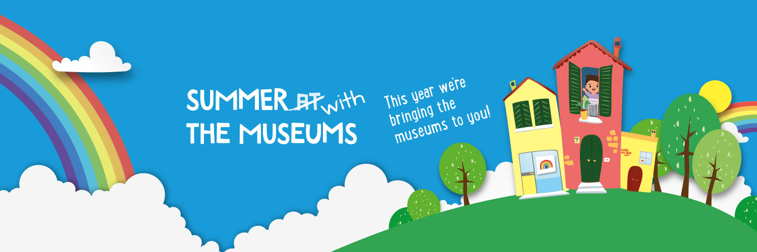 Summer with the Museums banner