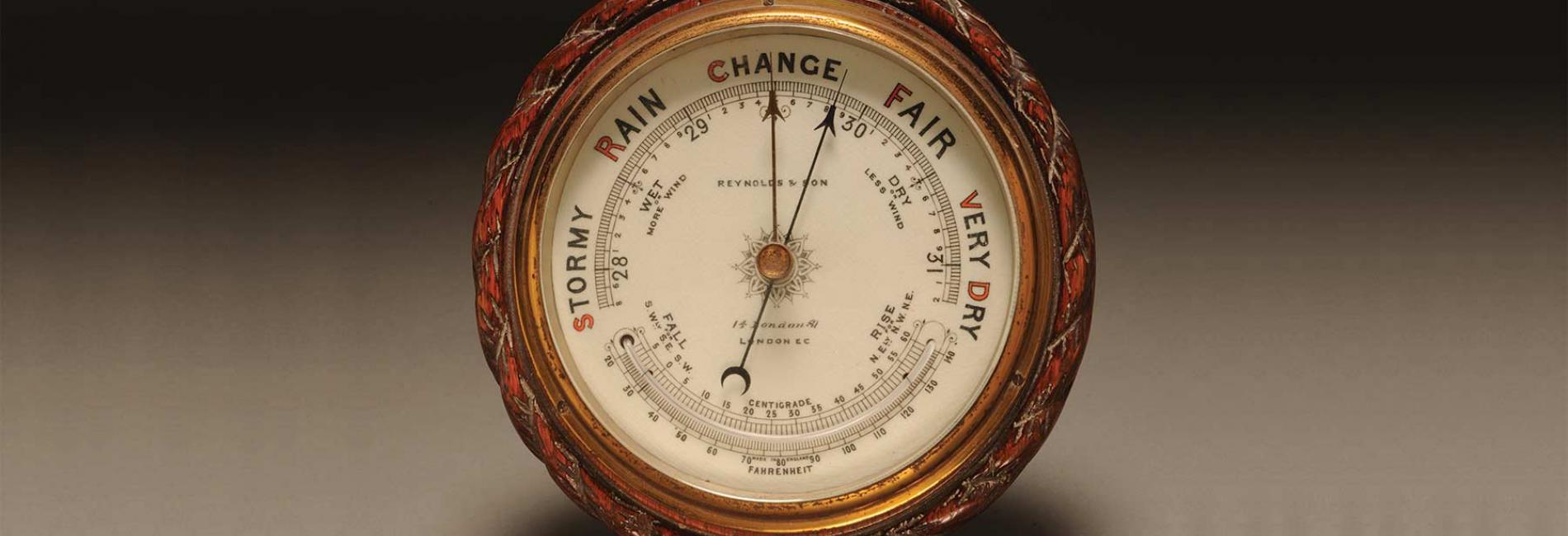 A barometer from the Sedgwick Museum