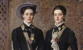The Twins, Kate and Grace Hoare John Everett Millais (1829–1896)