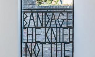 Broomberg & Chanarin Bandage the Knife Not the Wound 2018