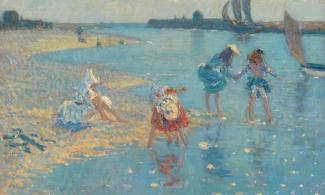Children paddling, Walberswick