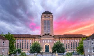 University Library at sunset (credit: Sir Cam)