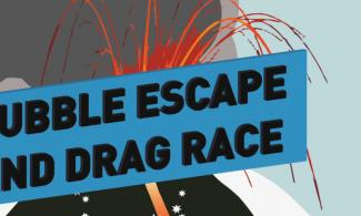 bubble escape and drag race banner image