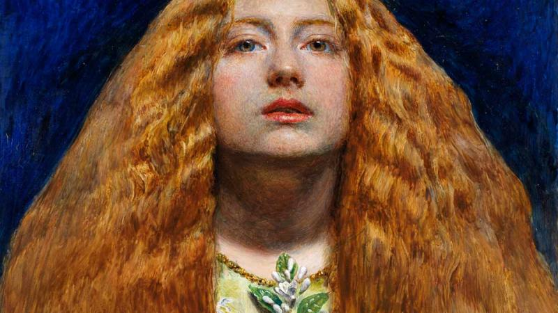 The Bridesmaid 1851 Painting by John Everett Millais