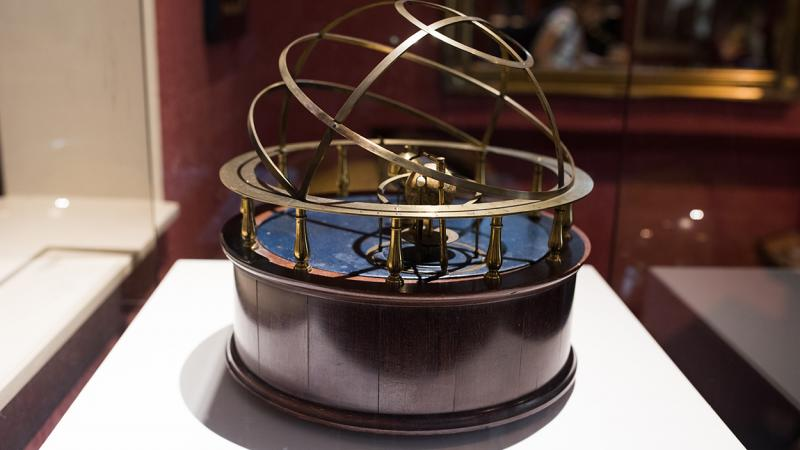 The 'grand' orrery at the Whipple Museum